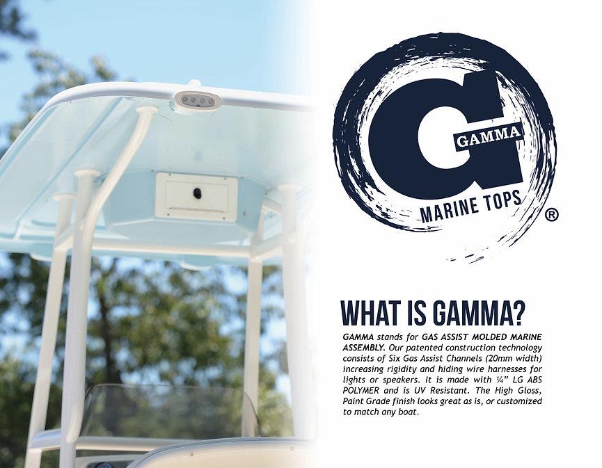 GAMMA Top, Boat Top, Boat T Top