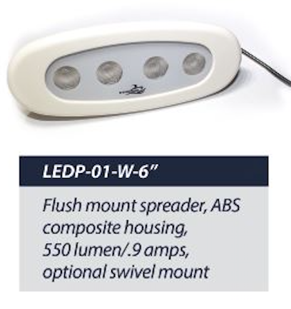 LEDP-01-W-6 Spreader Light