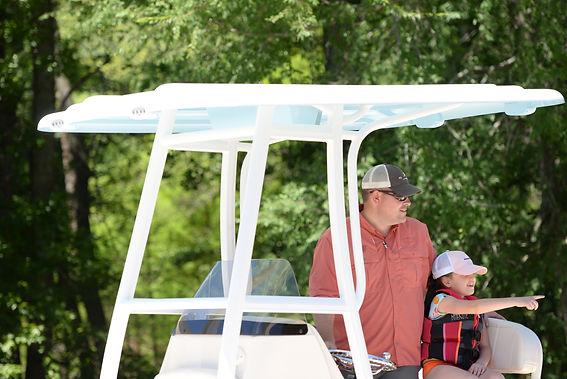 Gamma Boat Top, Boat T Top