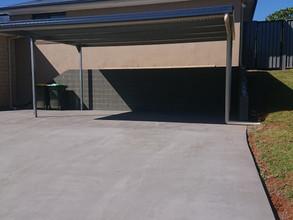 Retainer wall / carport / driveway