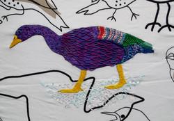 Hand Embroidery: Embellishing Printed Fabric