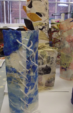 Mixed Media Vessels