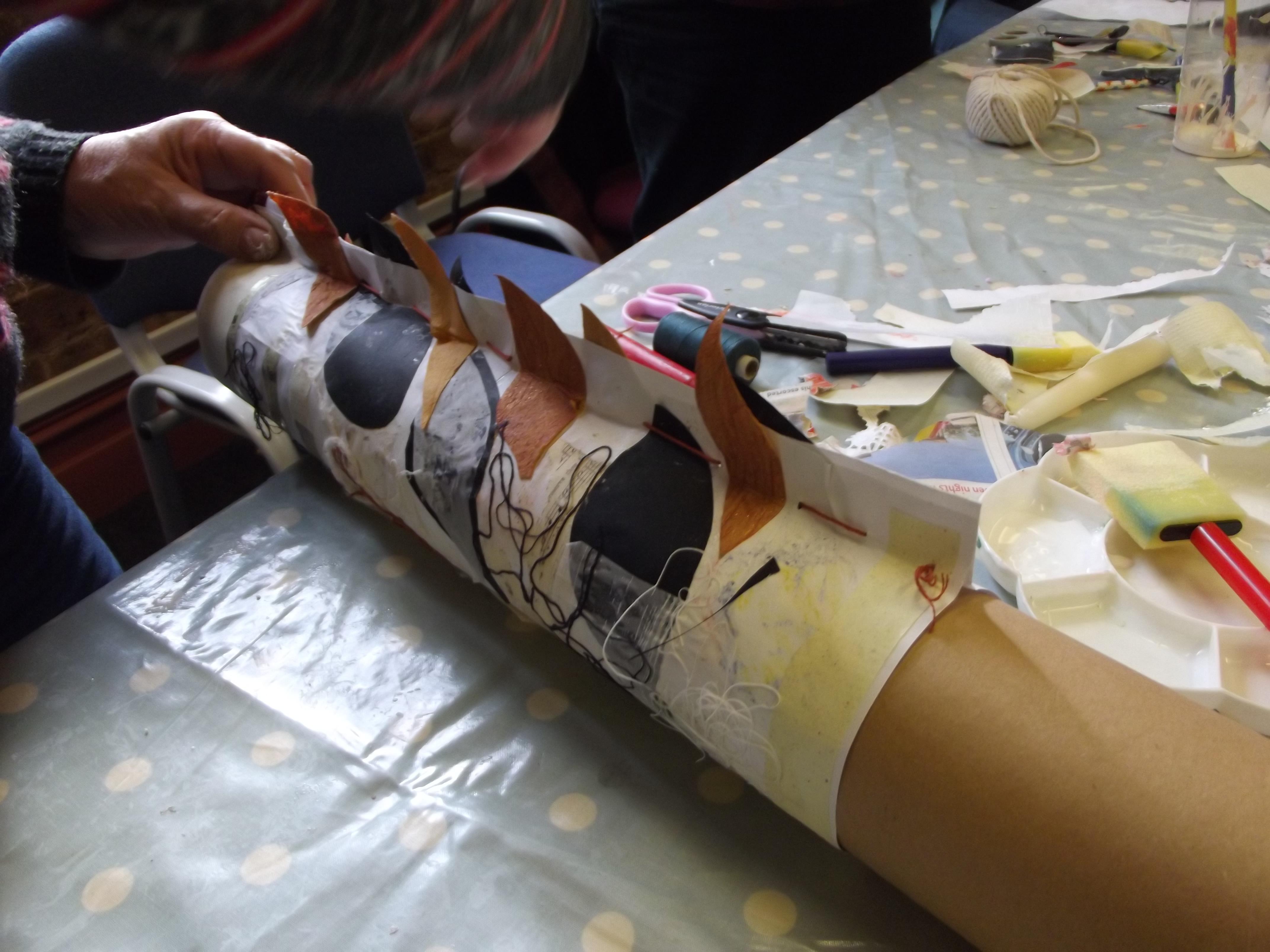 Making a vessel