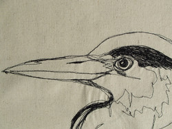 Grey Heron (detail)
