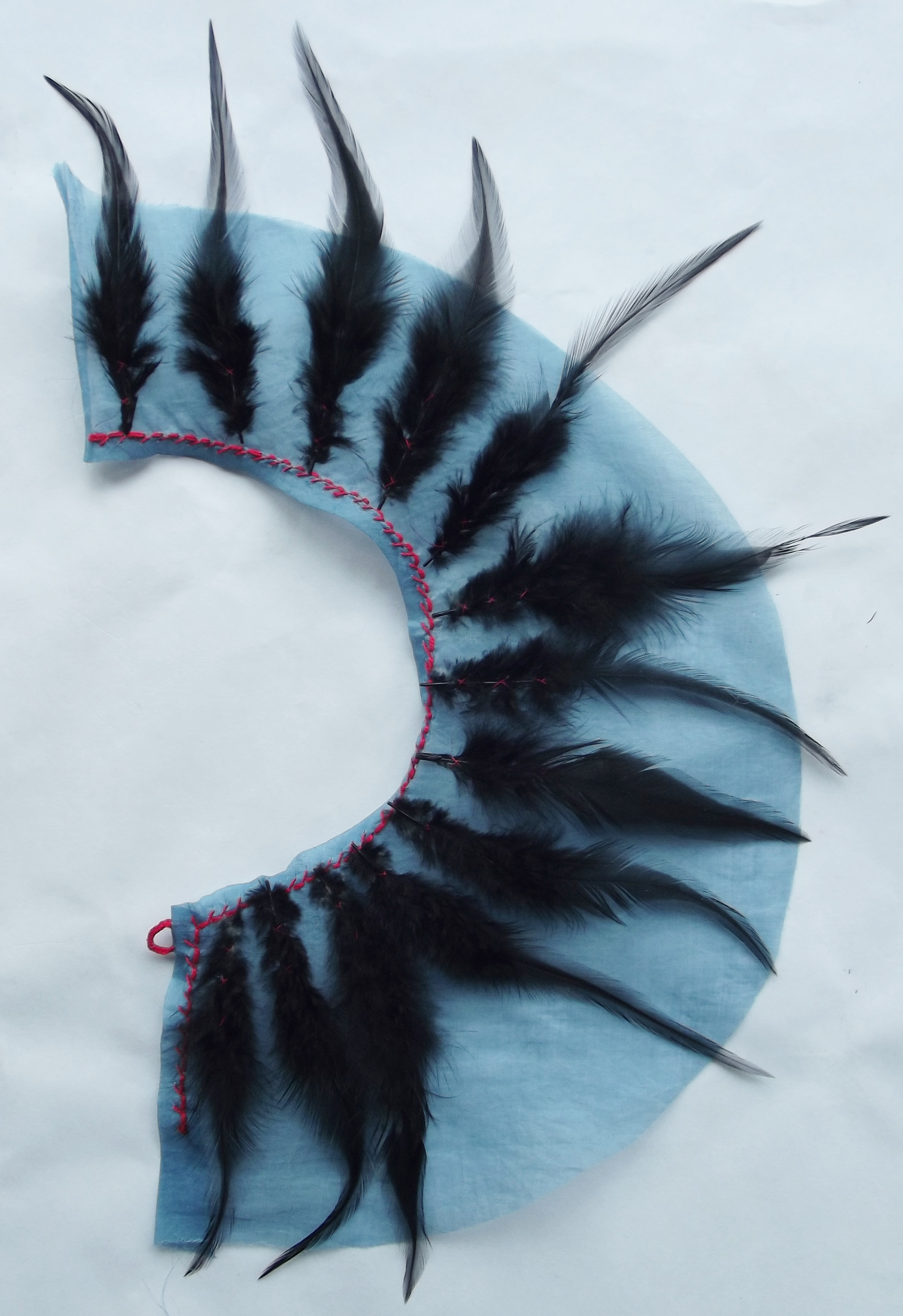 Feather Collar Sample