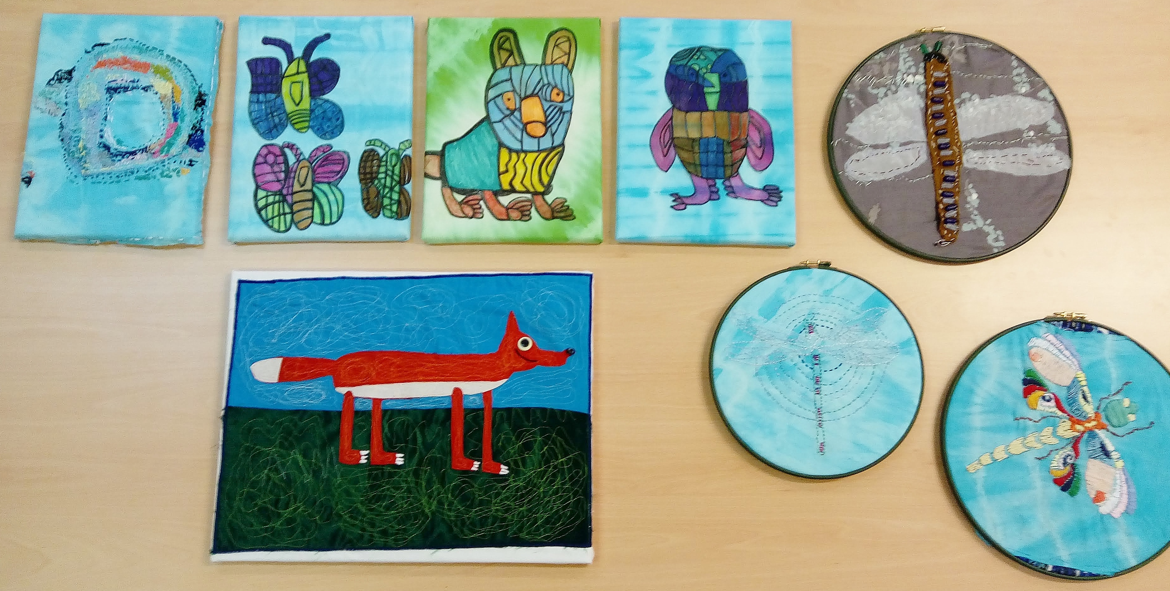 Textile Pieces by Studio Arts