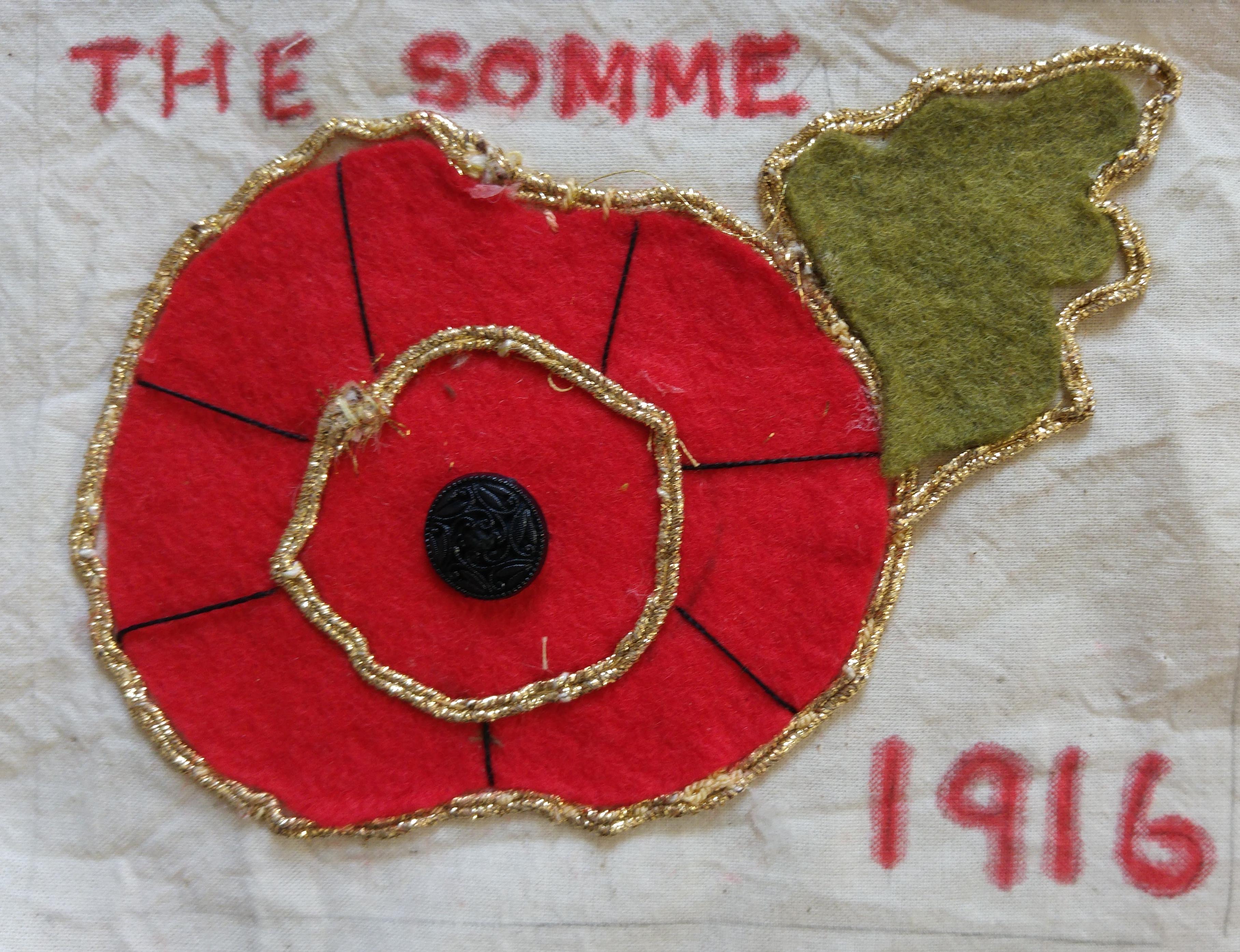 Somme 100 Commemorative Quilt