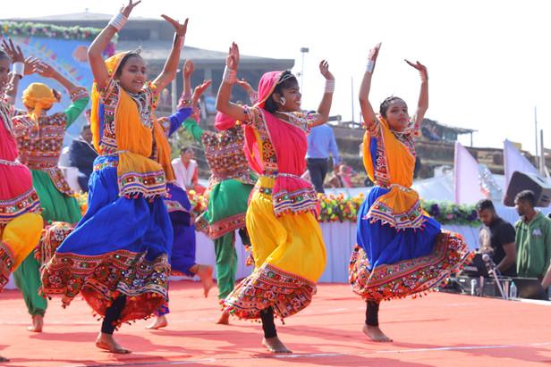 Flying Kites in Gujarat