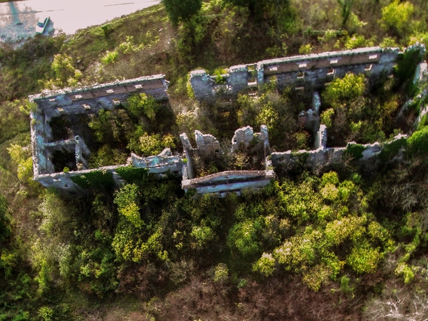 Haasberg castle ruins