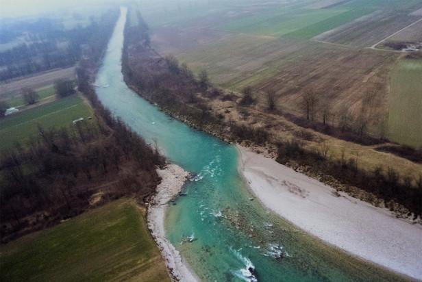 People vs. river