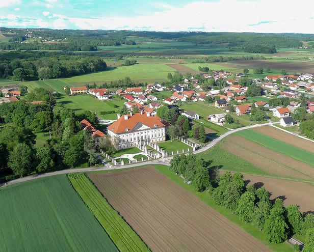 Arcadia: Dornava Manor and the Grand Baroque Axis
