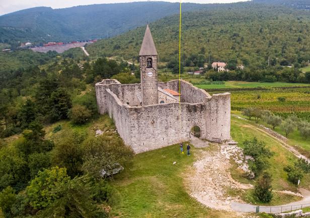 Tabor - the Fortified Church of Hrastovlje