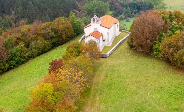 A Church Above a Blind Valley