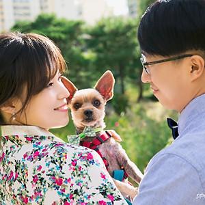 Remind wedding + Dog snap