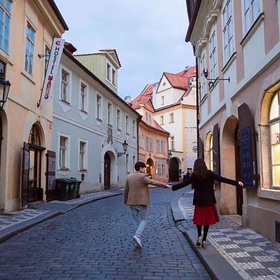 Czech   Honeymoon snap