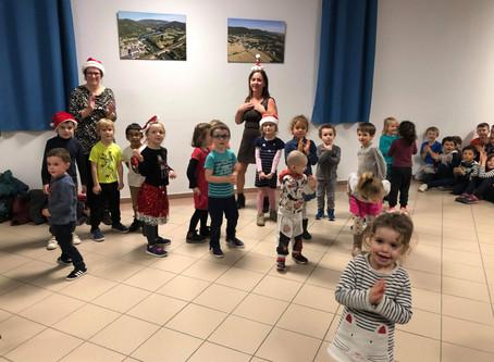 Danse et chant avec les maternelles CLAE Les Lavandières à St Georges