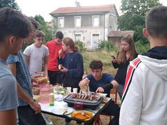 Avec les jeunes