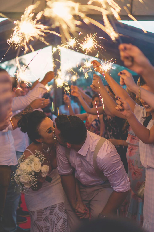 Indoor sparklers & fireworks