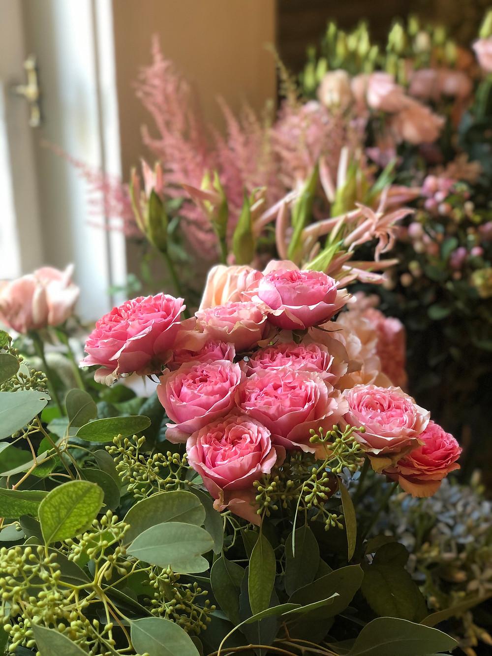 Hire a wedding florist