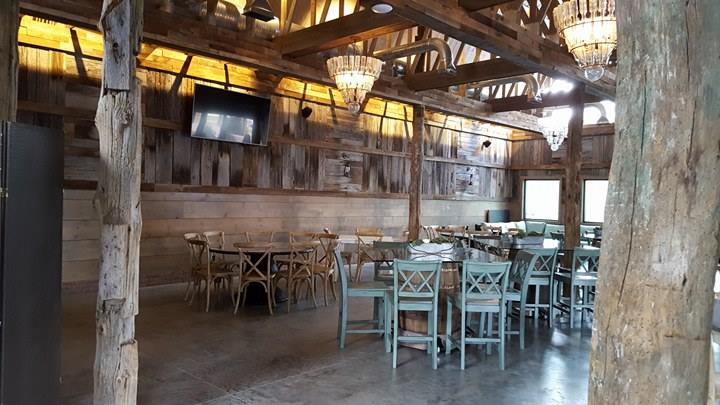 Dining in the Barn