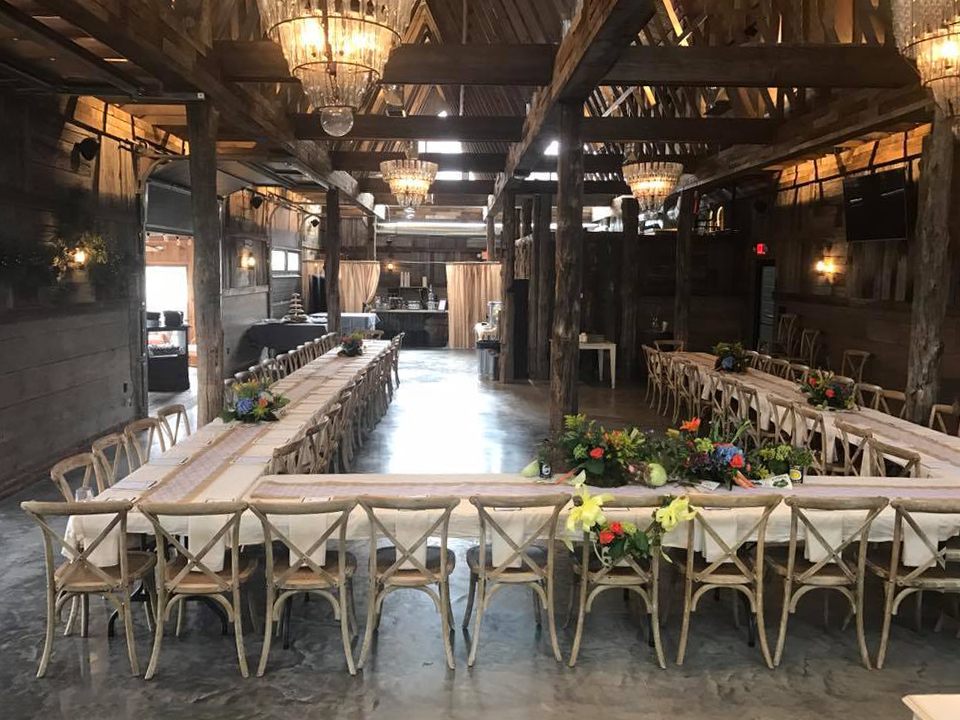 Barn Event Set-Up