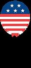 American Flag Balloon