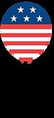 Americká vlajka Balloon