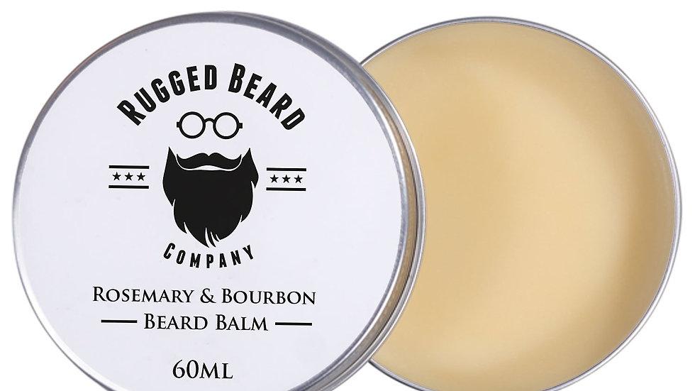 Rosemary and Bourbon Beard Balm