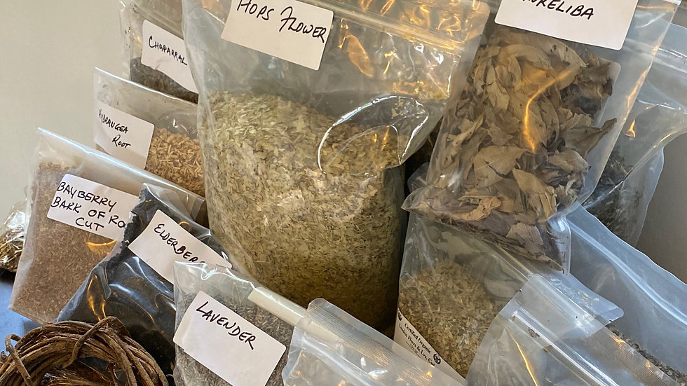Dry Herbs Selection
