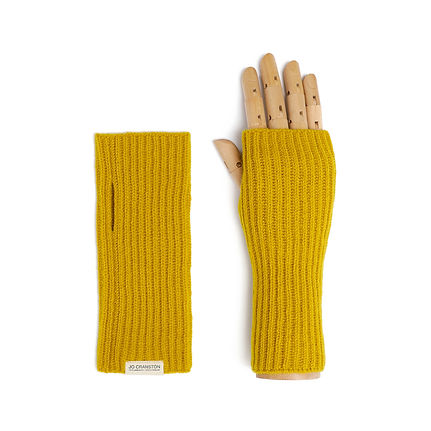 Jo Cranston - Womens Fishermans Rib fingerless glove in Piccalilli.jpeg