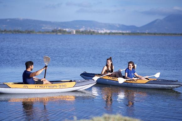 Aquamarina MEMBA 390 - napihljivi Kayak