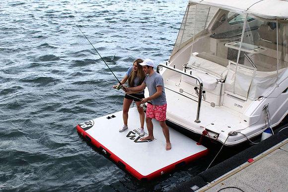 Aquamarina ISLAND - napihljiva platforma