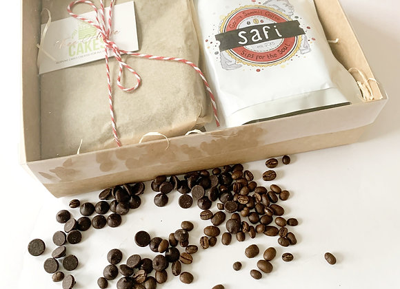 Brownies with ground Safi Coffee