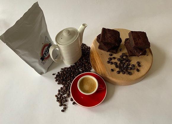 Brownies, Safi Coffee, Espresso Cup/Saucer