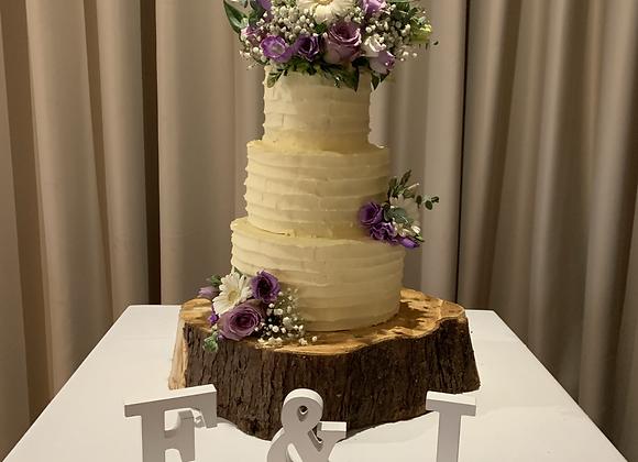 Wedding Cakes - Buttercream Icing