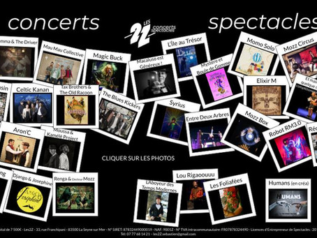 2021 - Concerts - Spectacles