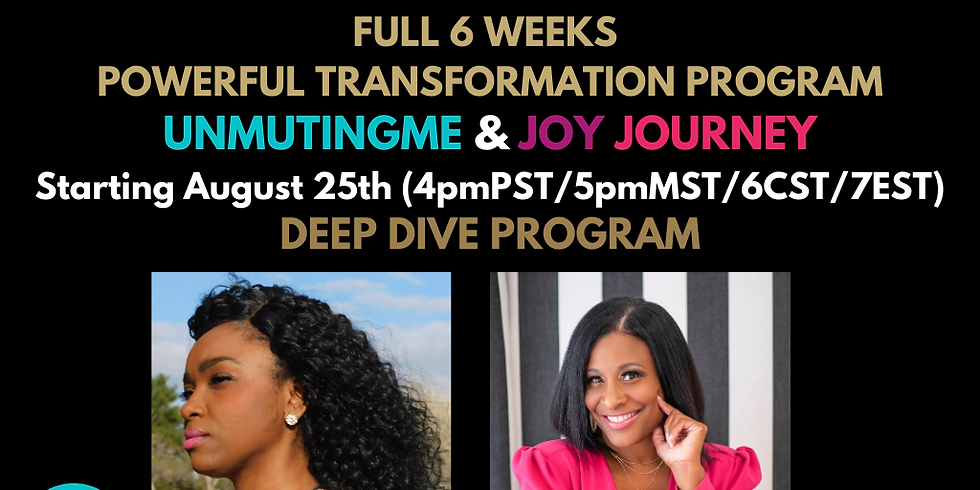 FEAR AND SHAME FULL TRANSFORMATIONAL PROGRAM (SCROLL TO ABOUT THE EVENT) NEW DATE!!!!