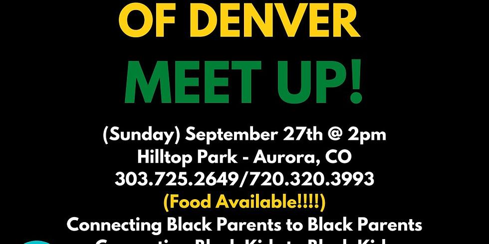 Black Parents of Denver Meet Up (September)
