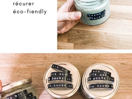 DIY crème a récurer éco-fiendly