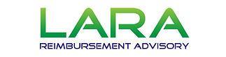 Lara reimbursement advisory logo reimbursement specialist