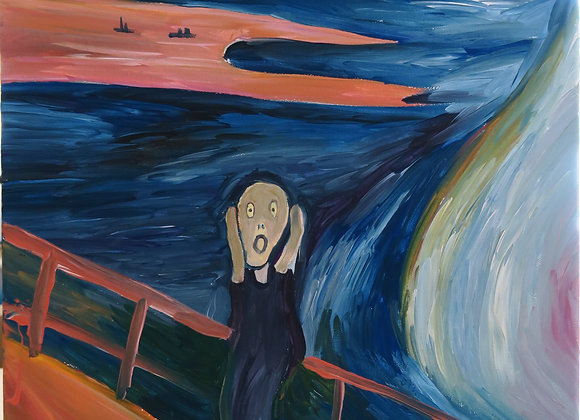 EDVARD MUNCH 'THE SCREAM' - 14TH MARCH @3PM