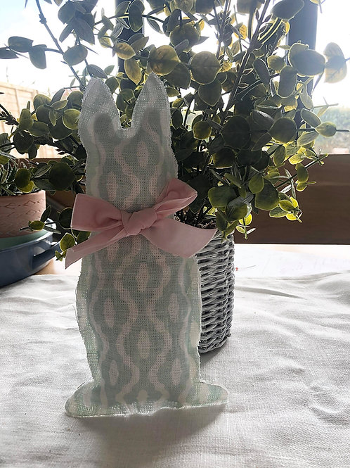 Easter Rabbit- Mint green