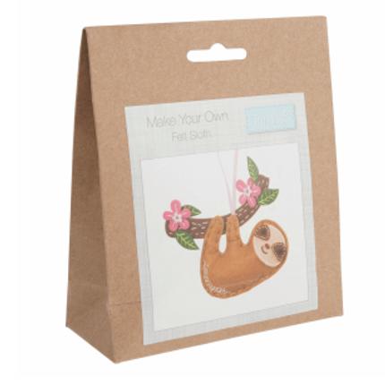 Felt Kits: Sloth