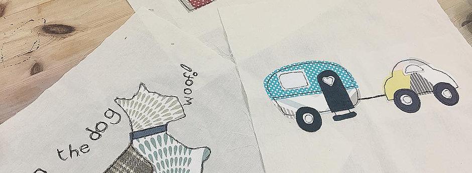 Free Machine Embroidery - Sat 6th Nov 10.30 - 1/1.30pm