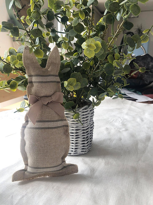 Easter Rabbit - Grey Stripe