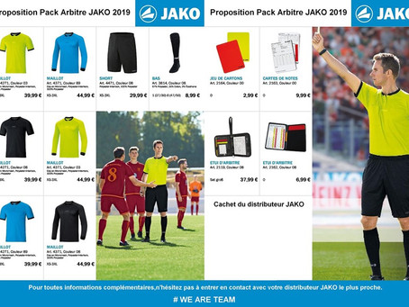 INFO'graphe équipe également les arbitres #jakoteamsport #flocagesoissons #equipementsportifsoissons