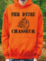 1284449-sweatshirt-orange-a-capuche-fier