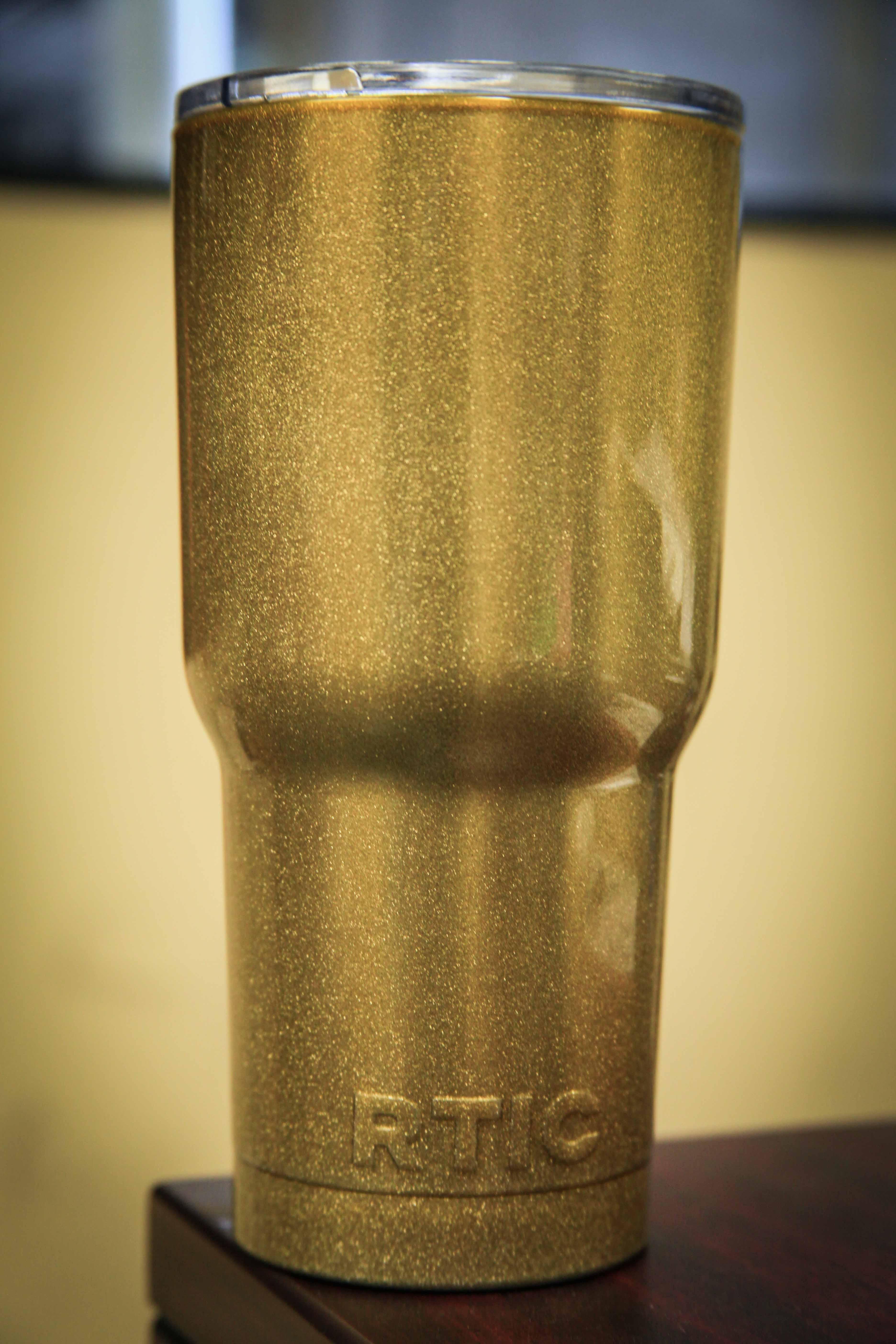 Gold Specs RTIC Powder Coat