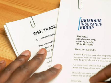 Certificates of Insurance - Risk Transfer Tool