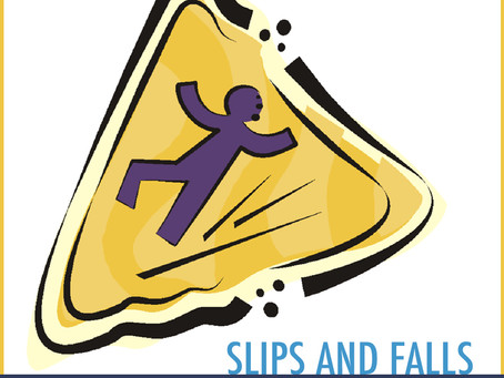 Slip and Falls - Manage the risk
